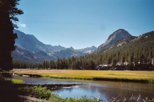 McClure Meadow in Kings Canyon National Park