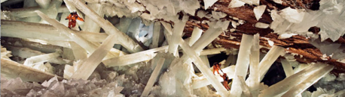 Giant crystals at the Naica Cave
