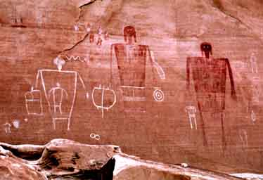 Big Man Pictographs