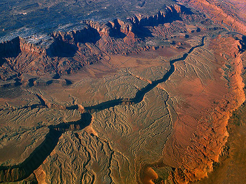 Aerial of Grand Canyon