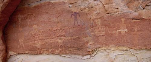 Grand Gulch Petroglyphs